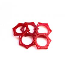 Кольцо для микрофона KoolTone RS34, красный