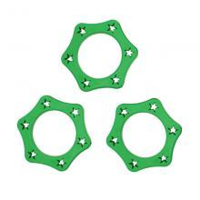 Кольцо для микрофона KoolTone RS37, зеленый