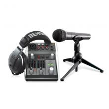 Комплект для звукозаписи Behringer PODCASTUDIO 2 USB