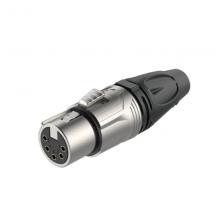 Разъем 5P XLR(f) кабельный Roxtone RX5F-NT