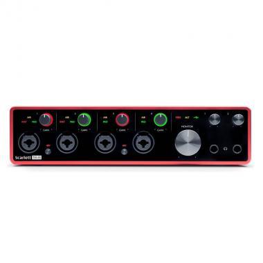 Аудиоинтерфейс Focusrite Scarlett 18i8 3rd Gen