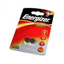 Элемент питания LR44 Energizer Alkaline LR44/A76, 2 шт
