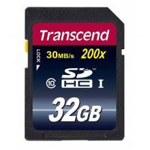 Флеш карта SDHC Transcend TS32GSDHC10 32GB