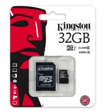 Флеш карта microSDHC Kingston SDC10G2/32GB 32GB