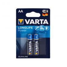 Элемент питания АА Varta Longlife Power 4906, 2 шт