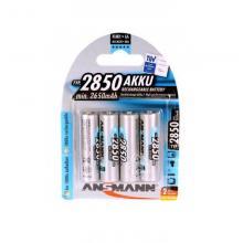 Аккумулятор AA 2850 mAh Ansmann 5035212-RU, 4 шт