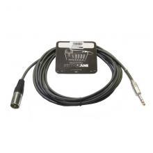 Микрофонный кабель Invotone ACM1003S/BK, 3 м