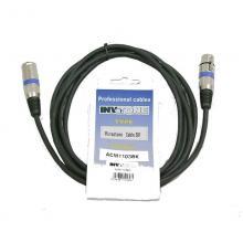 Микрофонный кабель Invotone ACM1105BK