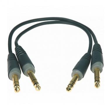 Коммутационный кабель Klotz AB-JJ0060 2 шт, 0.6 м