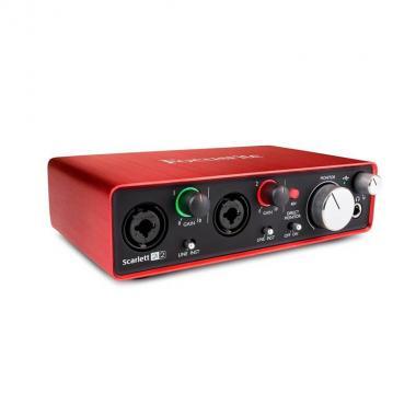 USB аудио интерфейс Focusrite Scarlett 2I2 2nd Gen