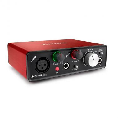 USB аудио интерфейс Focusrite Scarlett Solo 2nd Gen