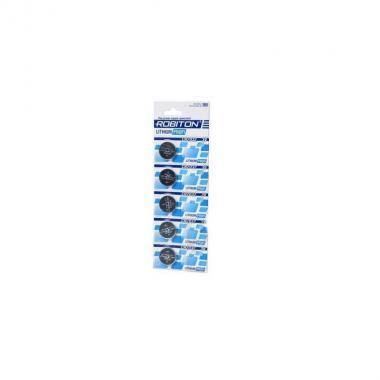 Элемент питания CR2032 Robiton Profi R-CR2032-BL5, 1 шт