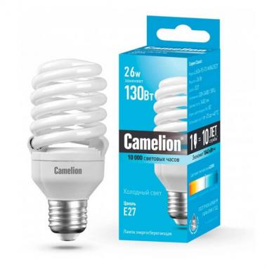 Лампа люминесцентная Camelion LH26-FS-T2-M/842/E27