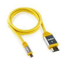 Кабель HDMI - micro HDMI Konoos KCP-HDMIDny