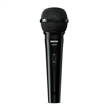 Вокально-речевой микрофон Shure SV200-A