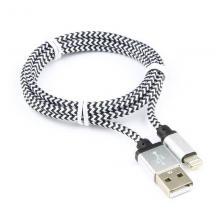 Кабель USB/Lightning Cablexpert CC-ApUSB2sr1m, 1 м