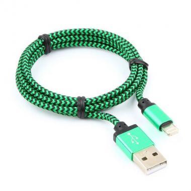 Кабель USB/Lightning Cablexpert CC-ApUSB2gn1m, 1 м