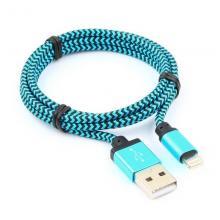Кабель USB/Lightning Cablexpert CC-ApUSB2bl1m, 1 м