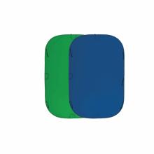 Складной фон синий/зелёный Fujimi FJ 706GB-240/240