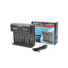 Зарядное устройство Robiton VolumeCharger LCD