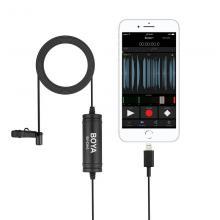 Петличный микрофон для Apple Boya BY-DM1