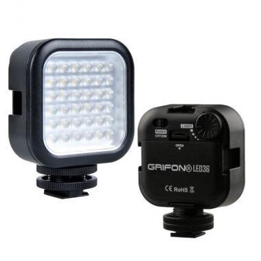 LED-осветитель Grifon LED-36 для фотокамеры
