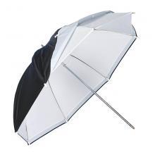 Зонт 101 см белый на просвет/отражение Grifon US-101TWB