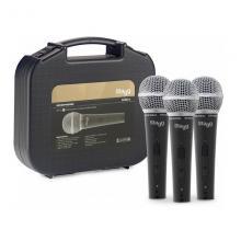 Комплект из 3-х микрофонов Stagg SDM50-3