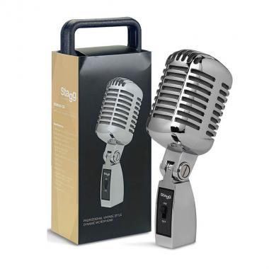 Винтажный микрофон Stagg SDM100 CR