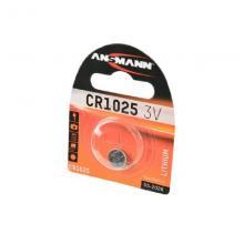 Элемент питания CR1025 Ansmann 1516-0005, 1 шт