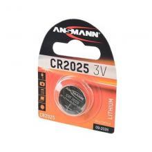 Элемент питания CR2025 Ansmann 5020142, 1 шт