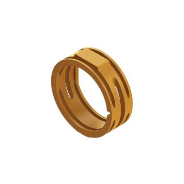 Кольцо для XLR-разьемов Roxtone XR-OG, оранжевый