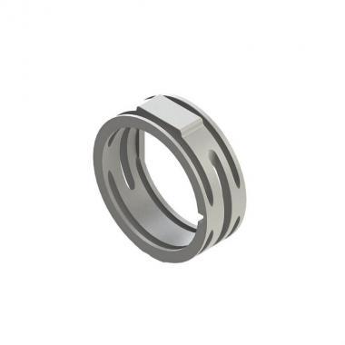 Кольцо для XLR-разьемов Roxtone XR-WT, белый