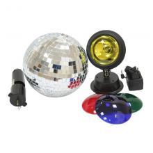 Зеркальный шар, свет и мотор Involight SL0152
