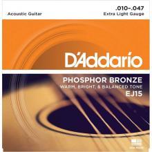 Струны для акустической гитары D'Addario EJ15