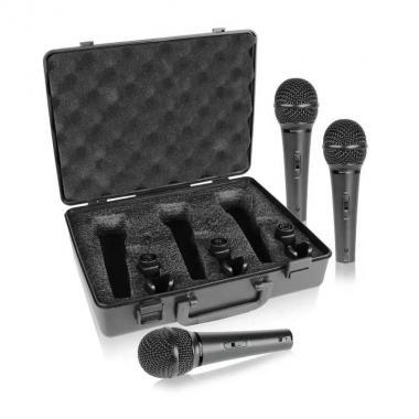 Комплект динамических микрофонов Behringer XM1800S