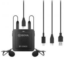 Двухканальный комплект для записи Boya BY-DM20