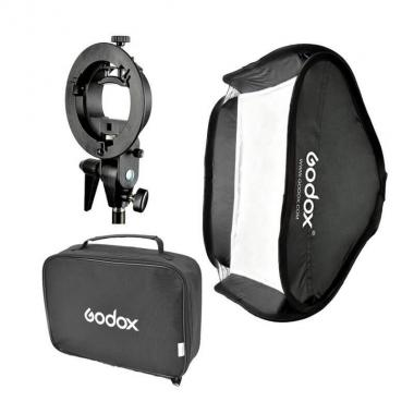 Софтбокс Godox SFUV5050 для накамерных вспышек