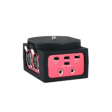 Двухканальный XLR аудиоадаптер Saramonic SR-AX101