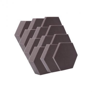 Комплект акустического поролона Echoton Hexagon BK