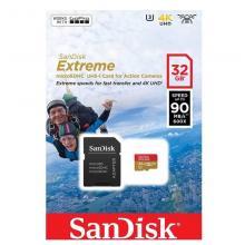 Флеш карта microSDHC 32GB SanDisk SDSQXAF-032G-GN6AA
