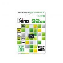 Флеш карта microSDHC 32GB Mirex 13612-MC10SD32
