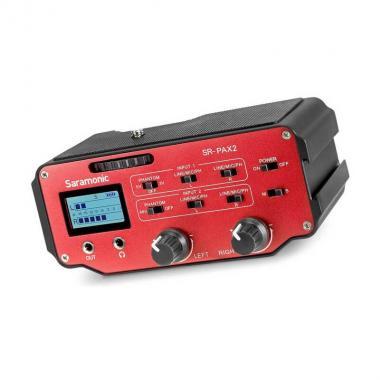 Аудиоадаптер с питанием Saramonic SR-PAX2