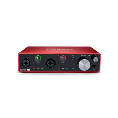 USB аудио-интерфейс Focusrite Scarlett 4i4 3rd Gen
