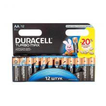 Элемент питания AA Duracell TURBO MAX MX1500, 12 шт