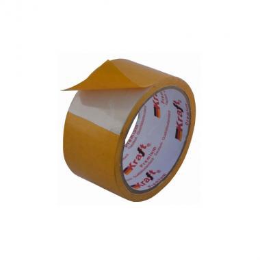 Двухсторонняя клеящая лента Kraft Premium 48/10m