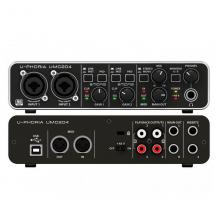 USB-аудиоинтерфейс Behringer UMC204HD