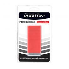 Внешний аккумулятор 5200 mAh Robiton POWER BANK Li5.2-R