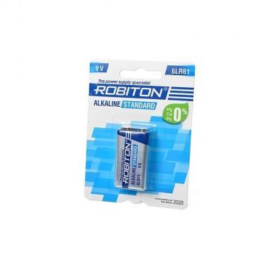 Батарейка крона Robiton STANDARD 6LR61, 1 шт