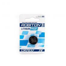 Элемент питания CR2032 Robiton Profi R-CR2032-BL1, 1 шт